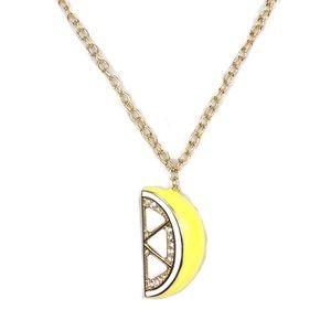 Kate Spade Lemon Slice Long Necklace